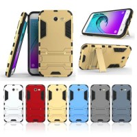 Case Holder hp untuk Samsung Galaxy J3 Prime Premium Stand Silikon PC