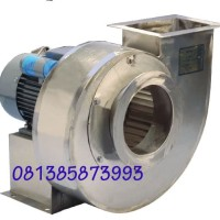 CENTRIFUGAL BLOWER, STAINLESS STEEL, 2500 CMH, 1.5 HP
