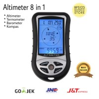 Altimeter Digital 8 in 1 outdoor,kompas,termometer,barometer