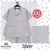 Piyama Katun Super Jumbo 3/4XXL LD 130 Dewasa Baju Tidur / Big Size 09