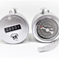 Kompas Kiblat Arah Sholat Plus Counter Alat Hitung