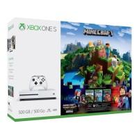 XBOX ONE SLIM 500GB MINECRAFT BUNDLE