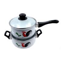 Kedaung Panci 2 Susun Bunny Set Ayam Jago, HNE10763-KI-130