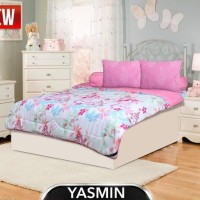 sprei dan sarung bantal murah Bedcover My love 180 x 200 YASMIN (