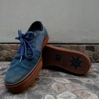 Sepatu Men's Skating DC Switch S Super Suede Bekas Skateboard Blue Gum