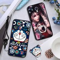 2in1 Premium Soft Cute Cat Case untuk Meizu M5 Note string Gift hp Ca