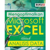 Buku Mengoptimalkan Microsoft Excel Untuk Analisis Data