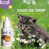 Obat Kucing Coco Oil Atasi Bulu Rontok Dan Pitak