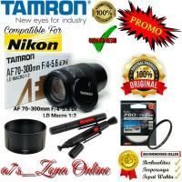PROMO Lensa Tele Nikon SLR/DSLR Tamron AF 70-300mm F/4-5.6 RESMI