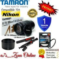 PROMO Lensa Tele Nikon SLR Tamron AF 70-300mm F/4-5.6 Di LD Makro 1:2