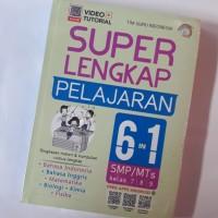 Buku Super Lengkap Pelajaran 6 in 1 SMP/MTS KELAS 7 8 9