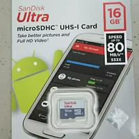 Memory card 16gb Microsd 16gb kartu memori hp 26gb 80mbps