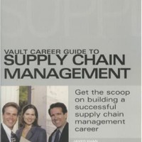Vault Career Guide to Supply Chain Management - Javed Khan