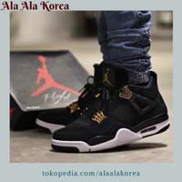 Jual Sepatu Pria Nike Air Jordan Retro 4 Royalti Original Premium Sneakers Murah
