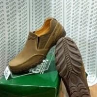 Sepatu Slip On Sepatu Merk Gats Ori Pria Santai Kulit Asli Branded