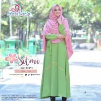 Jual Gamis Set Gerai Cinta SILMI SET EXCLUSIVE HIJAU PINK M XL