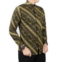 VM Batik Kemeja Pria Slimfit Panjang Batik pria Modern 318d79f877