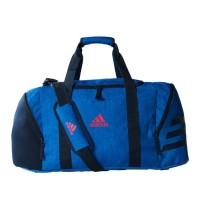 Tas Adidas Ace 17.2 Team Bag Medium Blue Original Travel Fitnes BQ1446