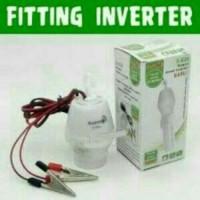 Fitting Lampu Aki E27/ Power Inverter E27