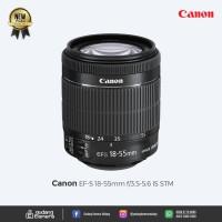 [NEW] Canon EF-S 18-55mm f/3.5-5.6 IS STM @Gudang Kamera Malang