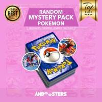 Promo Paket Kartu Pokemon Random Mystery Pack Original + Bonus