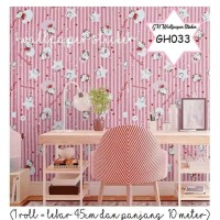 Wallpaper sticker/ kertas dekor 45cm x 10 m- GH033