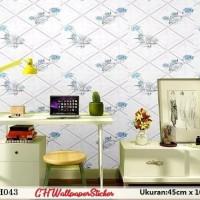 Wallpaper sticker / kertas dekor 45cm x 10 m- GH043