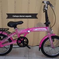 Sepeda lipat 16 evergreen murah dan bagus