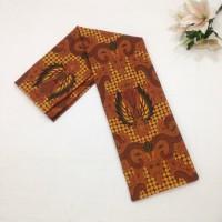 KSG99 Kain Batik Bahan Sogan Motif Kekinian Bawahan Kebaya Wanita 5cb641b853