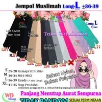 Kaos Kaus Kaki Jumbo Panjang XL Jempol Muslimah Nylon PE