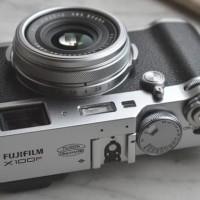 Fujifilm X100F Brown / Silver - Garansi Resmi Fujifilm Indonesia