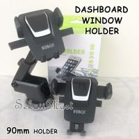 HANDPHONE CAR HOLDER / MOUNT CAR / BRACKET / DUDUKAN HP ROBOT 90RCH