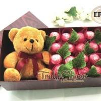 Cokelat Trulychoco hadiah untuk teman special dengan boneka
