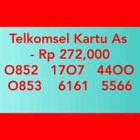 Nomor cantik telkomsel As double aa(O852 17O7 44OO(O853 6161 5566)tc