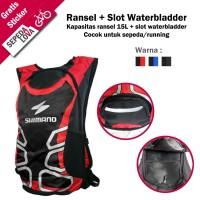 Tas Punggung Ransel Hydropack Sepeda Backpack Running Shimano