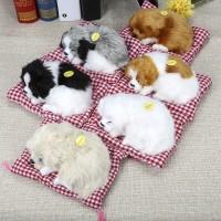 Boneka Bentuk Anjing Tidur Dengan Suara