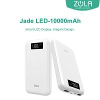 Powerbank Zola Jade Led 10000mAh Smart Led Display Fast Charging 2.1A