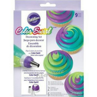 Wilton Tri Color Coupler Decorating Set-9