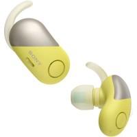 Sony WF-SP700N Wireless In-Ear Headphones (Yellow)