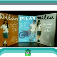 Promo paket novel Dilan satu dilan dua milea 3buku lengkap