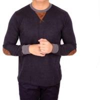 Harga baju kaos lengan panjang pria kaos longsleeve hitam terbaru | Hargalu.com
