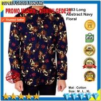 Harga baju kemeja pria lengan panjang kemeja batik hem pria halus | Hargalu.com