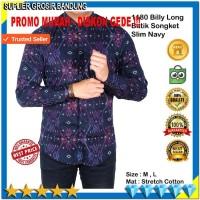 Harga kemeja kerja baju kemeja batik lengan panjang pria hem pria | Hargalu.com
