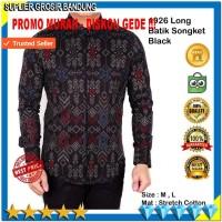Harga baju kemeja pria lengan panjang baju batik songket best seller | Hargalu.com
