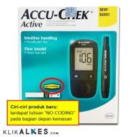 Accu Chek Active alat tes gula darah