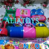 Harga mainan cooking set mainan alat rumah tangga mainan minuman dan | antitipu.com