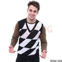 Sweater Rompi Rajut Pria Modis ROM 269