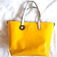 tas wanita tote bag merk Rotelli original kuning