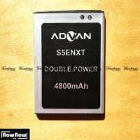 Baterai Advan S5E Nxt Original Double Power Batre Batrai Battery Hp