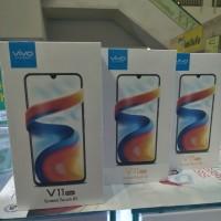 HP VIVO V11 PRO RAM 6 ROM ROM 64 Garansi Vivo Indonesia Black & Blue